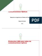 11. Protocolos LAN Para Redes de Comunicaciones Opticas