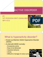 HYPERACTIVE DISORDER presentation.ppt