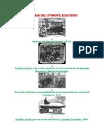 Historia Del Utomovil Electrico