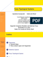 Fuzzy Topological Systems