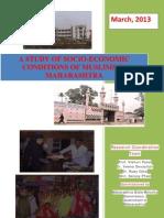 Socio Economic Profile of Muslims in Maharashtra