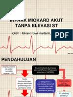 Infark Miokard Akut Tanpa Elevasi St