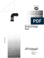 ANSI HI Pump Standard 2.6 Vertical Pump Tests