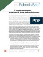 School Progress Reports 2012