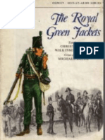 Osprey, Men-At-Arms #052 the Royal Green Jackets (1975) OCR 8.12