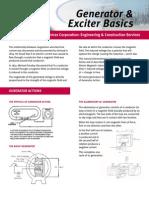 Generator & Exciter basic