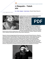 Grigori Rasputin Legendaris Rusia