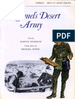 Osprey, Men-At-Arms #053 Rommel's Desert Army (1976) 77Ed OCR 8.12