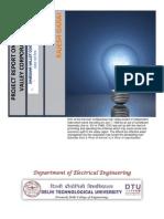 Damodar Valley Corporation DVC Training Report