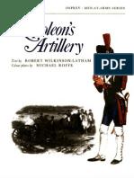 Osprey, Men-At-Arms #054 Napoleon's Artillery (1975) OCR 8.12