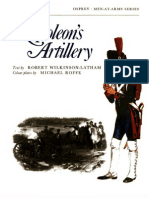 Osprey, Men-At-Arms #054 Napoleon's Artillery (1975) OCR 8.12