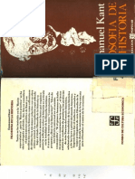 Kant - Filosofía de la Historia