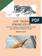 LOS  VICIOS IDIOMÁTICOS