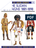 Osprey, Men-At-Arms #059 the Sudan Campaigns 1881-1898 (1976) 99Ed OCR 8.12