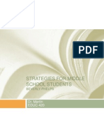 strategies for middle school students