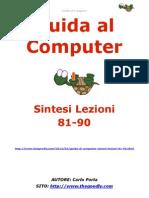 Guida al Computer - Sintesi Lezioni 81-90