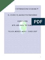 EL JOVEN Y EL MUNDO POSTMODERNO  ABEL RAUL TEC KUMUL.pdf