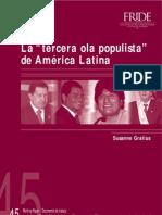 WP45 Populismo America Latina ES Oct07