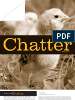 Chatter, April 2013