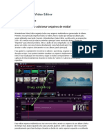 Wondershare Video Editor - Guia do usuário