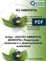 TRABALHO GESTÃO AMBIENTAL MUNICIPAL (2)