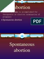 Spontaneous Abortion Pp