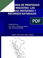 Comunidades Nativas Recursos Naturales y Medio Ambiente