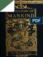 Frederich Ratzel History of Mankind Vol 01
