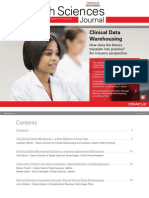 Clinical Data Warehousing