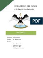 DIFUSORES Informe Final