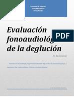 Seminario evaluación de disfagia