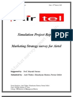 Simulation Project Airtel