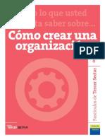Tercer Sector - Crear Organizaciones