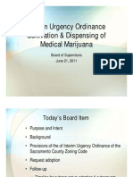 Sacramento County cannabis ordinance - PowerPoint