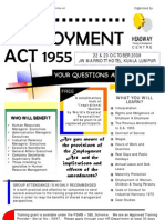 The Employment Act 1955