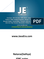 JDBC Notes (Natraz Sir Notes)-JavaEra.com