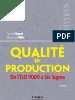 La qualité en production