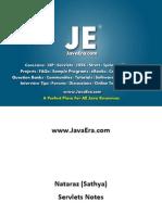 Servlets (Natraz Sir Notes) -JavaEra.com