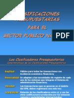 HACIENDA  PÚBLICA - 2012-Clasificadores Presupuestarios