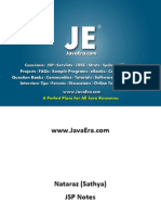 JSP (Natraz Sir Notes)-JavaEra.com