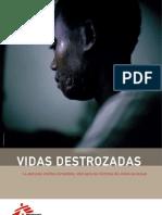 Vidas Destrozadas MSF