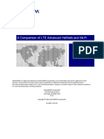 Qualcomm Research a Comparison of Lte Advanced Hetnets and Wifi