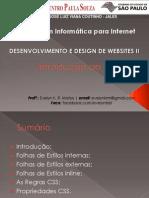 02 - Introdução CSS