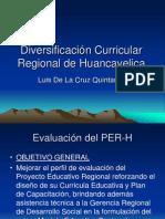 Diversificacion Curricular Region Huancavelica Luis de La Cruz