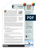 Newsletter 2009 03March