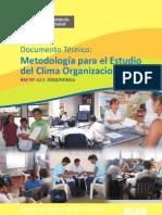 CLIMA ORGANIZACIONAL MINSA -18-22
