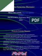 (Proyecto Genoma Humano)