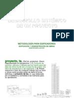 DESARROLLO SISTÉMICO DE UN PROYECTO 2011