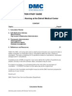Medication Study Guide