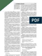 RAD Nº 001-2007-APN-DIR, del 26 de Enero de 2007. Norma Nacional que Establece el Uso de Chalecos Reflectivos y Uso de Chalecos Salvavidas.